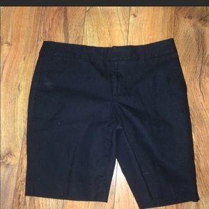 Banana Republic black shorts, like new